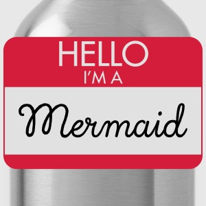 Hello I'm A Mermaid T-Shirts - Water Bottle