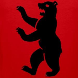 bear T-Shirts - Men's Premium Tank Top