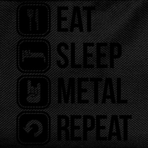 eat sleep metal repeat T-Shirts - Kinder Rucksack