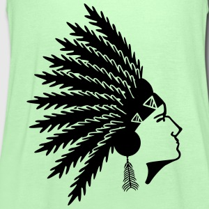 native american T-Shirts - Women's Tank Top by Bella