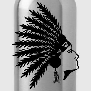 native american T-Shirts - Water Bottle