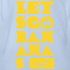 let´s go banana T-Shirts - Baby Bio-Kurzarm-Body