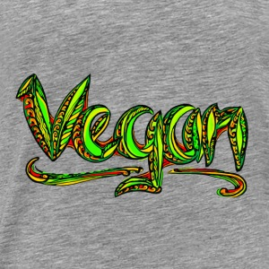 Vegan, animal welfare,  save earth, nature Sweatshirts - Herre premium T-shirt