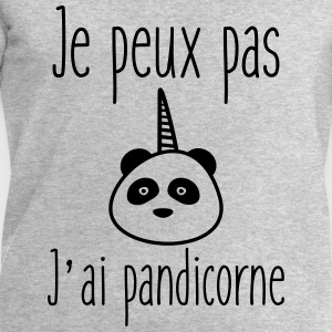 je peux pas j'ai pandicorne - Humour citations  - Sweat-shirt Homme Stanley & Stella