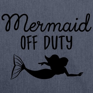 Mermaid Off Duty Camisetas - Bandolera de material reciclado