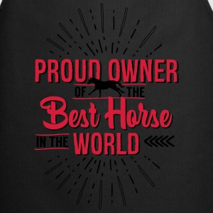 Owner of the world's best horse T-Shirts - Cooking Apron