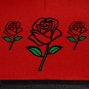ma rose Sweat-shirts - Casquette snapback