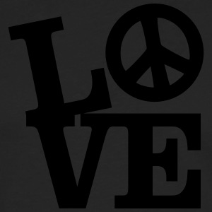 Love - Peace T-Shirts - Men's Premium Longsleeve Shirt