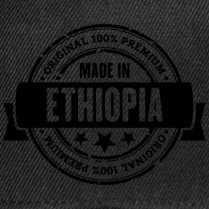 Made in Ethiopia T-Shirts - Snapback Cap