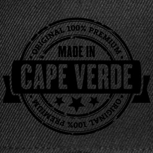 Made in Cape Verde T-Shirts - Snapback Cap