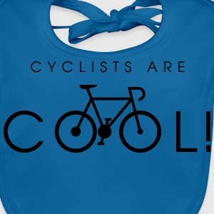 cyclists_are_cool_09_2016 T-Shirts - Baby Bio-Lätzchen