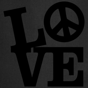 Love - Peace T-shirts - Forklæde