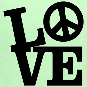Love - Peace T-Shirts - Women's Tank Top by Bella