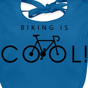 biking_is_cool_09_2016 T-Shirts - Baby Bio-Lätzchen