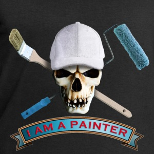 painter_skull_brush_092016_c T-Shirts - Männer Sweatshirt von Stanley & Stella