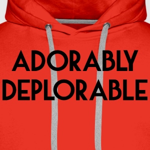Adorably Deplorable T-Shirts - Men's Premium Hoodie