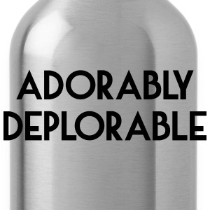 Adorably Deplorable T-Shirts - Water Bottle