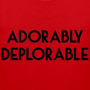 Adorably Deplorable T-Shirts - Men's Premium Tank Top