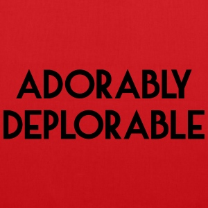 Adorably Deplorable T-Shirts - Tote Bag