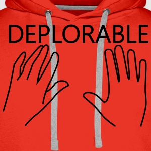 Deplorable T-Shirts - Men's Premium Hoodie
