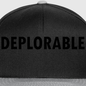 Deplorable  T-Shirts - Snapback Cap