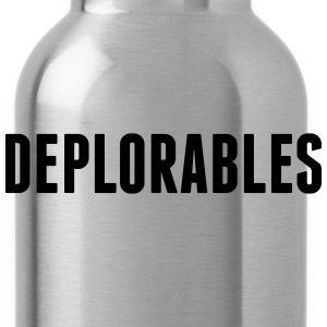 Deplorables T-Shirts - Water Bottle