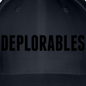 Deplorables T-Shirts - Flexfit Baseball Cap
