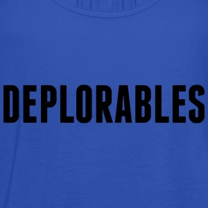 Deplorables T-Shirts - Women's Tank Top by Bella
