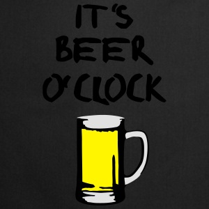 Beer o'clock T-shirts - Keukenschort
