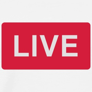 I'm LIVE now - Men's Premium T-Shirt