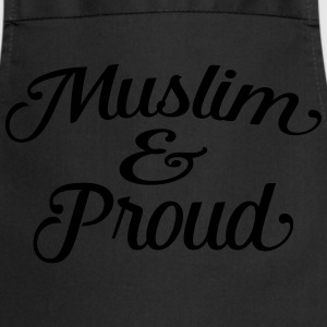 muslim and proud Tee shirts - Tablier de cuisine