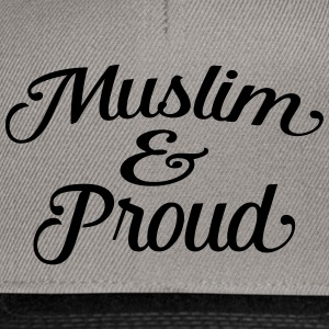muslim and proud Tee shirts - Casquette snapback