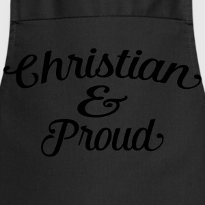 christian and proud Tee shirts - Tablier de cuisine