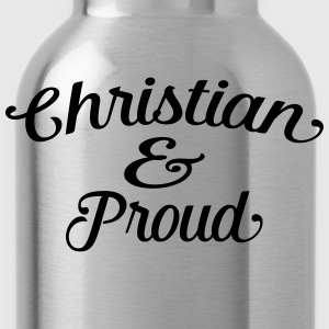 christian and proud Tee shirts - Gourde