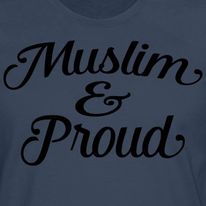 muslim and proud Tee shirts - T-shirt manches longues Premium Homme