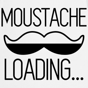 Moustache loading - Tablier de cuisine