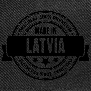 Made in Latvia T-Shirts - Snapback Cap
