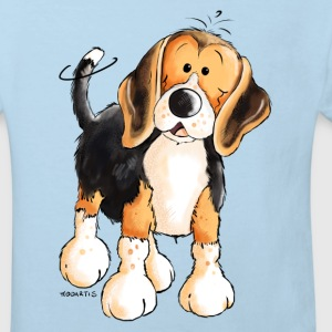 Cute Beagle Baby Bodysuits - Kids' Organic T-shirt