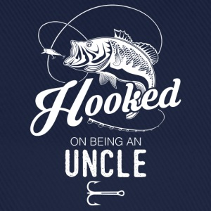 Hooked On Being An Uncle T-Shirts - Baseball Cap