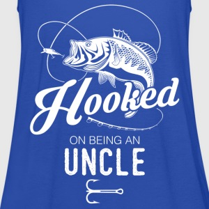 Hooked On Being An Uncle T-Shirts - Women's Tank Top by Bella