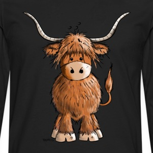 Scottish Highland Cattle T-Shirts - Men's Premium Longsleeve Shirt