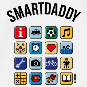 Smartdaddy (Daddy / Dad / POS / PNG) Other - Men's Premium T-Shirt