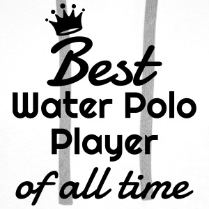 Water Polo / Waterpolo / Water-Polo / Wasserball Shirts - Men's Premium Hoodie
