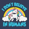 Einhorn: I don't believe in humans T-Shirts - Frauen Premium T-Shirt