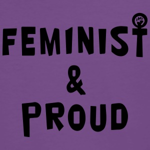 Feminist & Proud Hoodies & Sweatshirts - Men's Premium T-Shirt
