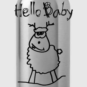 Hello Baby T-Shirts - Water Bottle