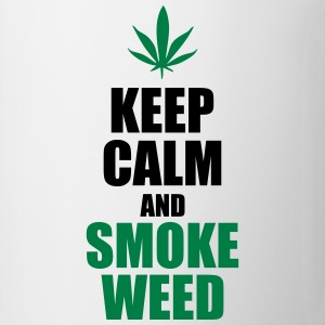 Keep calm and smoke weed - Tazza