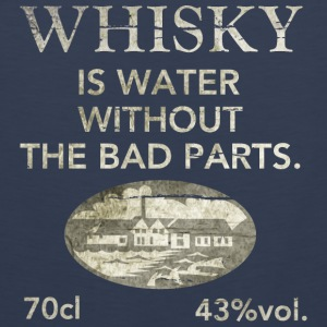 Whisky is water, shabby chic Tee shirts - Débardeur Premium Homme