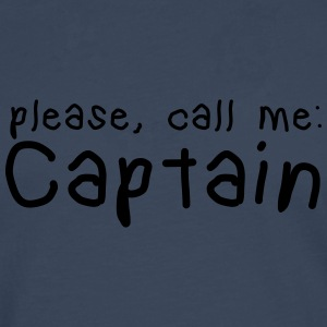 please, call me captain Mugs & Drinkware - Men's Premium Longsleeve Shirt