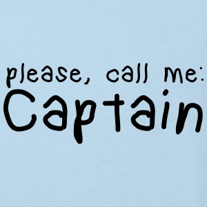 please, call me captain Baby Bodysuits - Kids' Organic T-shirt